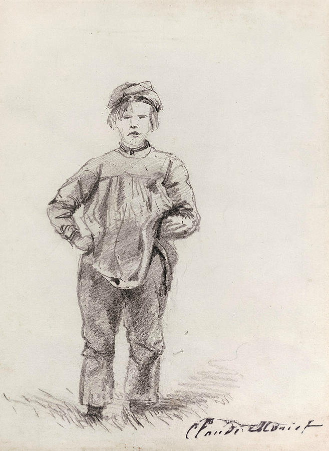 Boy in the Country by Claude Monet
