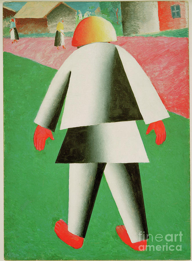 Boy by Kazimir Malevich