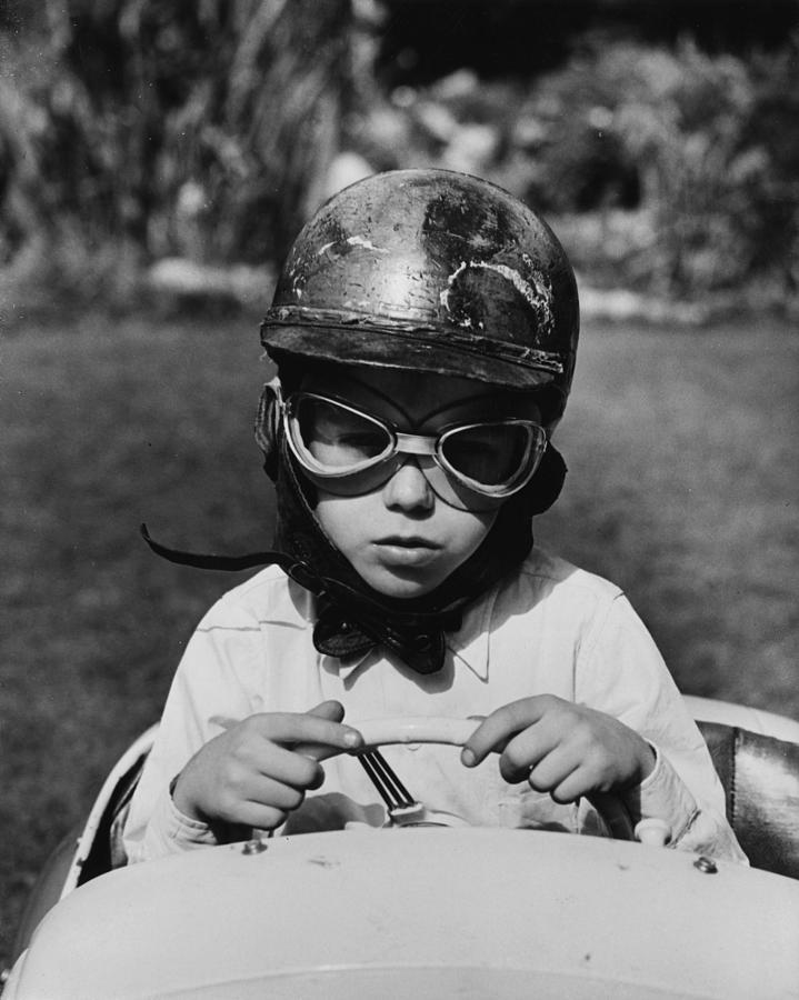 Boy Racer Photograph by Reg Speller