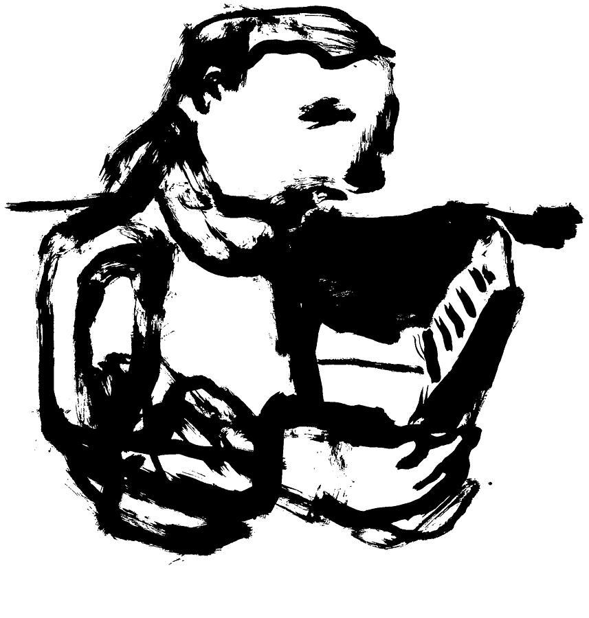 Boy reading by Artist Dot