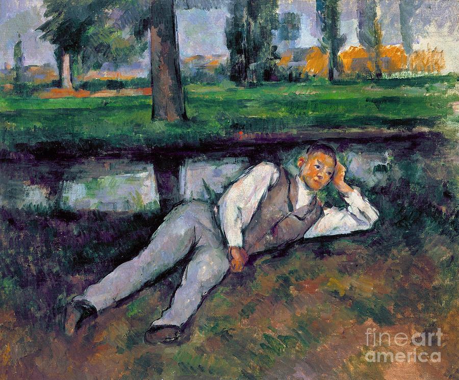 Boy Resting, c1885 by Paul Cezanne