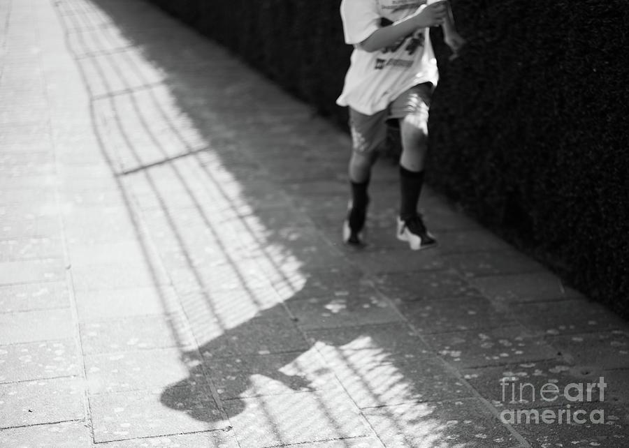 Boy Running by Jan Daniels