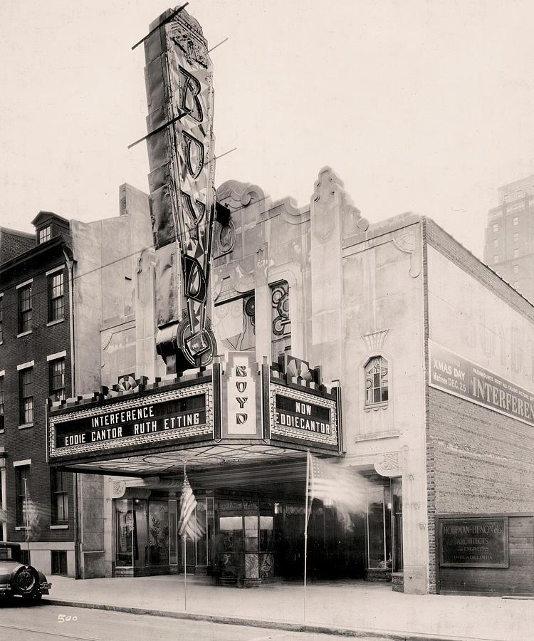 Boyd Theater by Irvin R Glazer