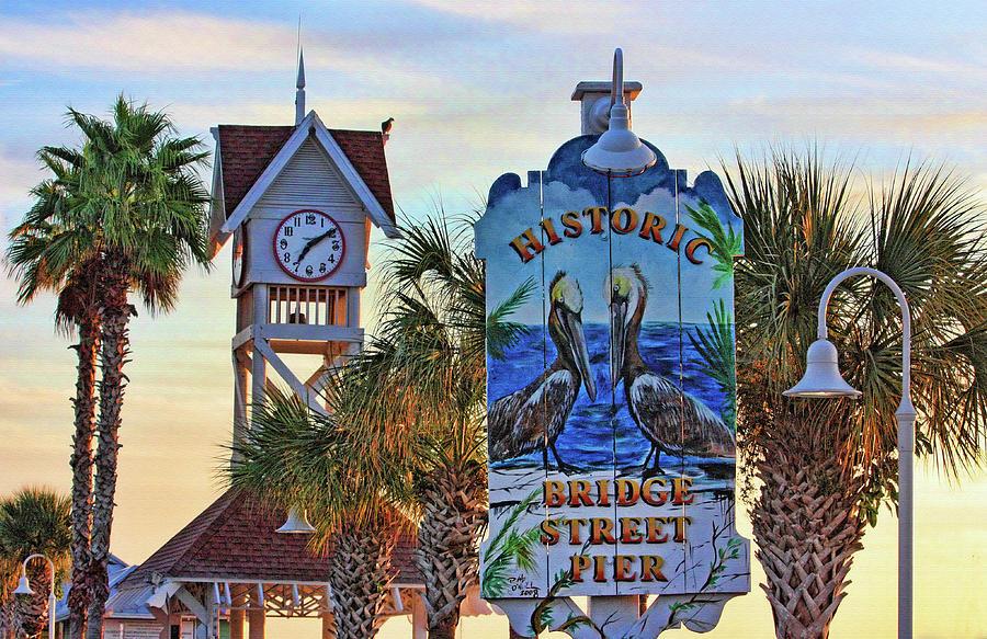 Bradenton Beach Landmark by HH Photography of Florida