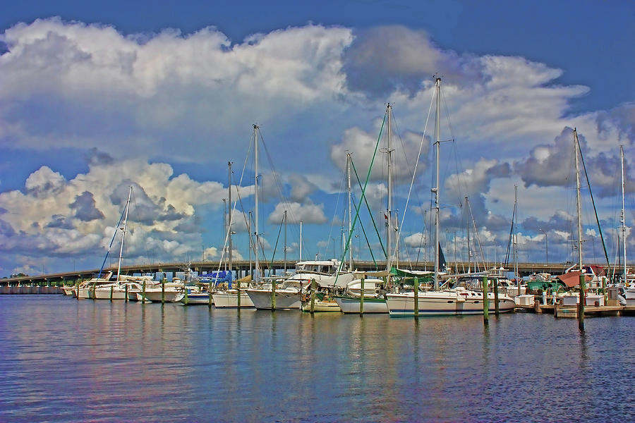 Bradenton Waterfront Marina by HH Photography of Florida