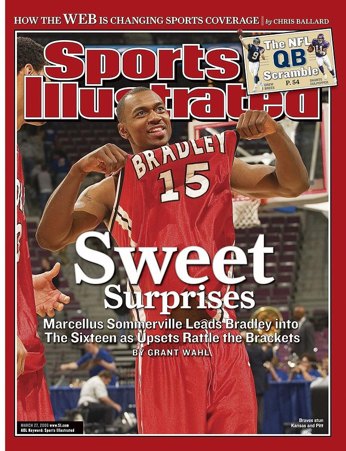 Bradley Marcellus Sommerville, 2006 Ncaa Playoffs Sports Illustrated Cover Photograph by Sports Illustrated