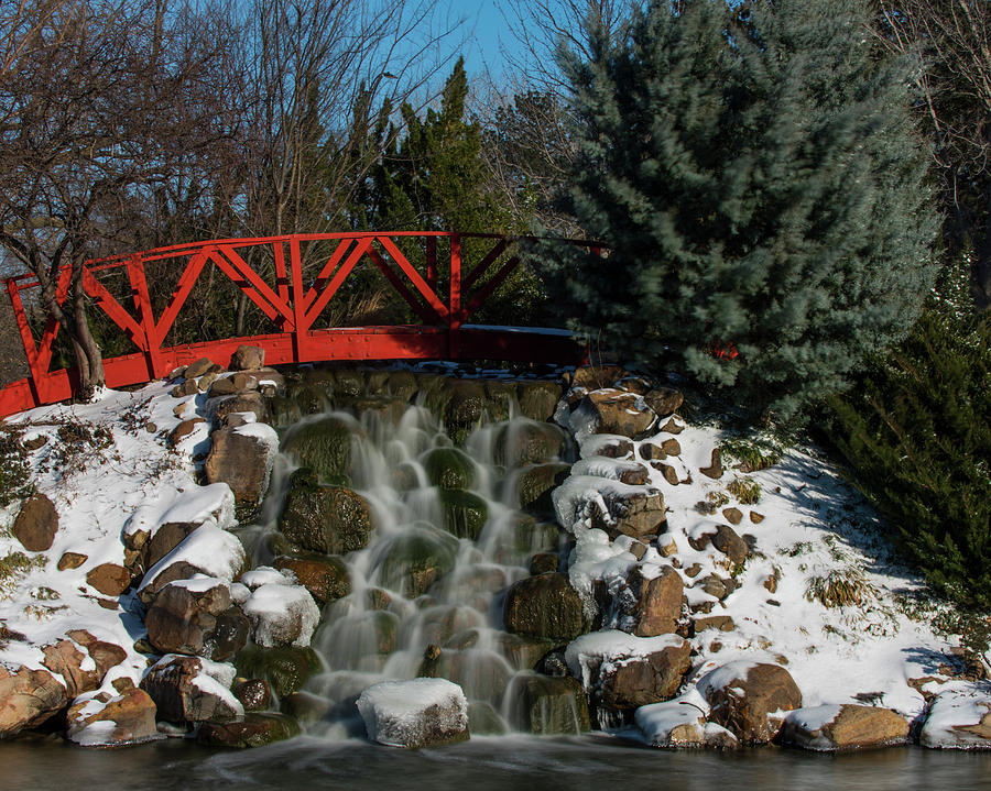 DDP DJD Bradley Waterfall in Winter 22 by David Drew