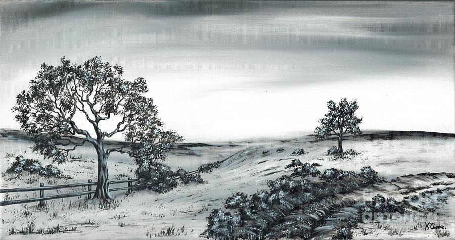 Bramble Bush Painting