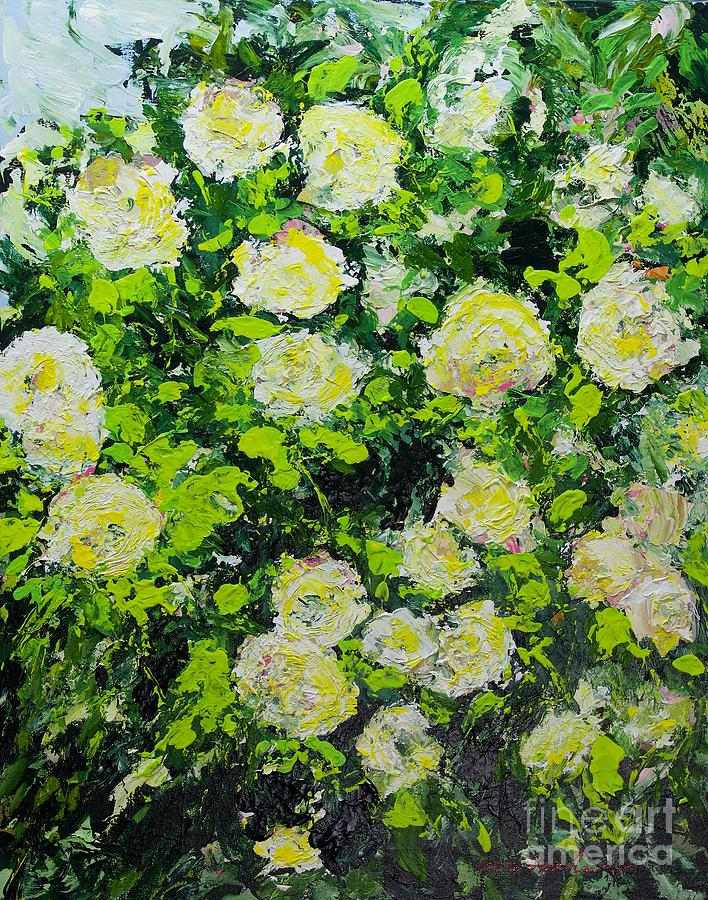 Branch Bloom Painting