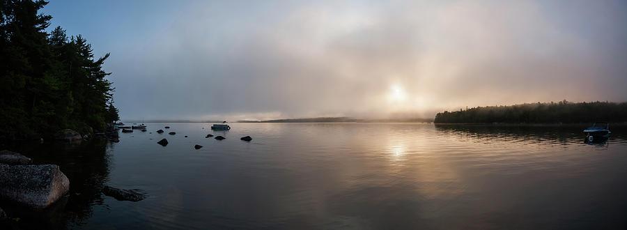 Branch Lake - Ellsworth Maine Photograph