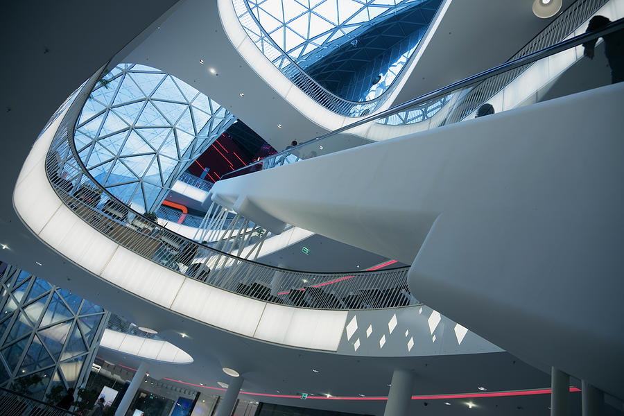 Brand New Shopping Mall Close Up Photograph by Tma1