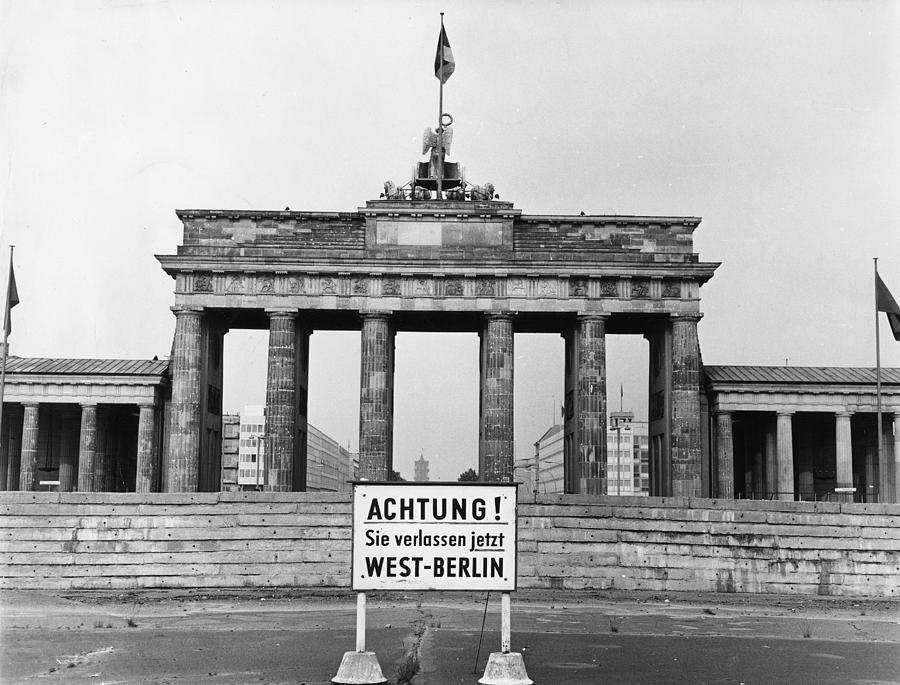 Brandenburg Gate Photograph by John Waterman