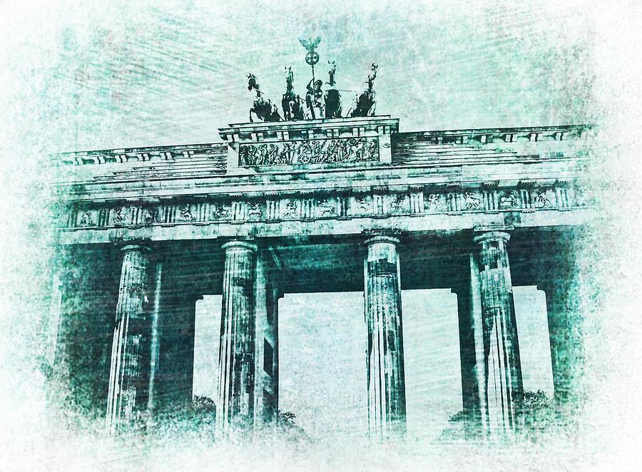 Brandenburg Gate by Jurgen Huibers