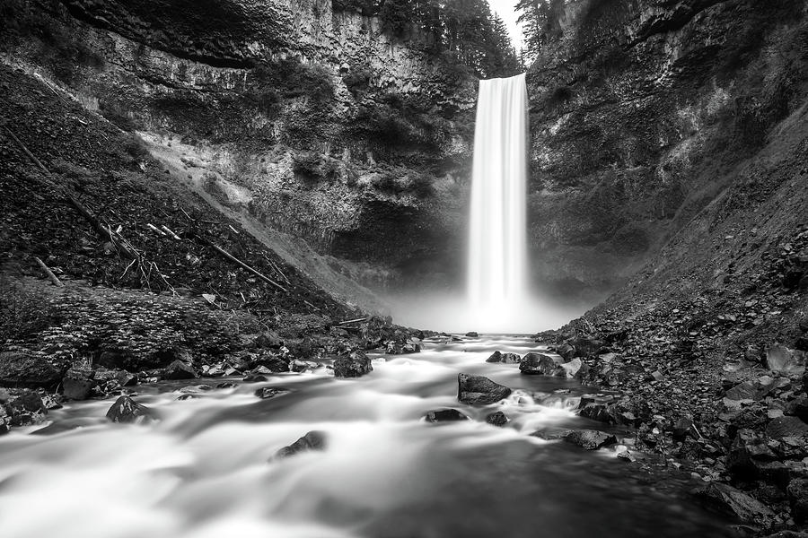 Brandywine falls in Black and White by Pierre Leclerc Photography