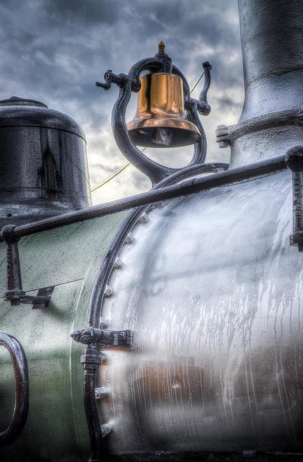 Brass Bell Photograph - Brass Bell by G Wigler