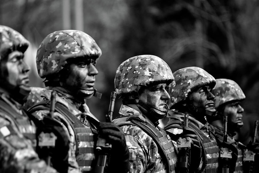 Men Photograph - Brave Men by Razvan Lungu