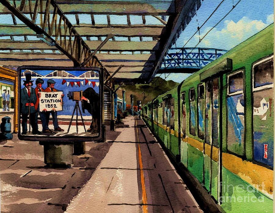 Bray DART train station by Val Byrne