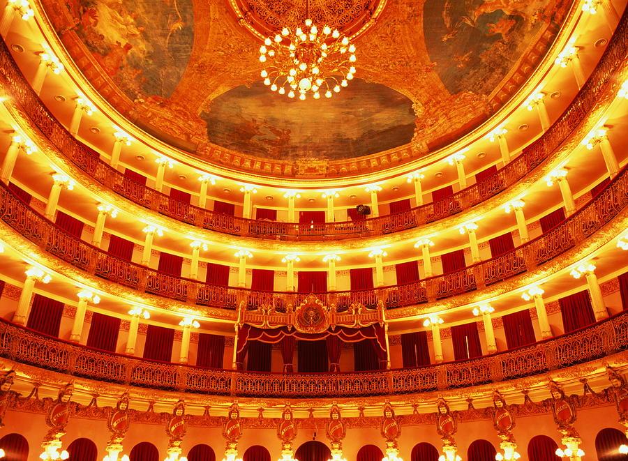 Brazil, Manaus, Teatro Amazonas Opera Photograph by Will & Deni Mcintyre