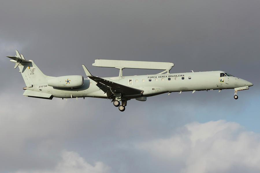 Brazilian Air Force E-99 Prepares by Simone Marcato
