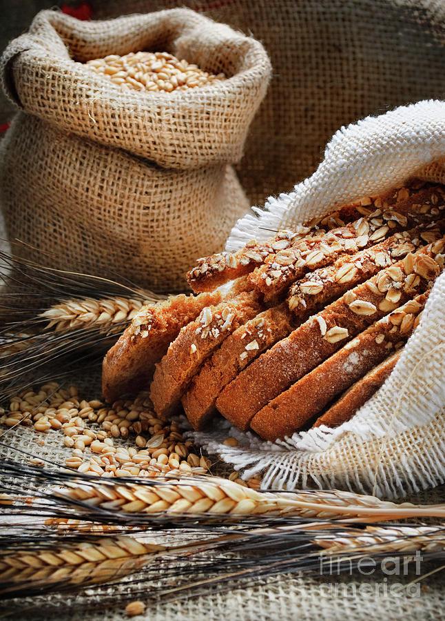 Bread and wheat ears by Jelena Jovanovic