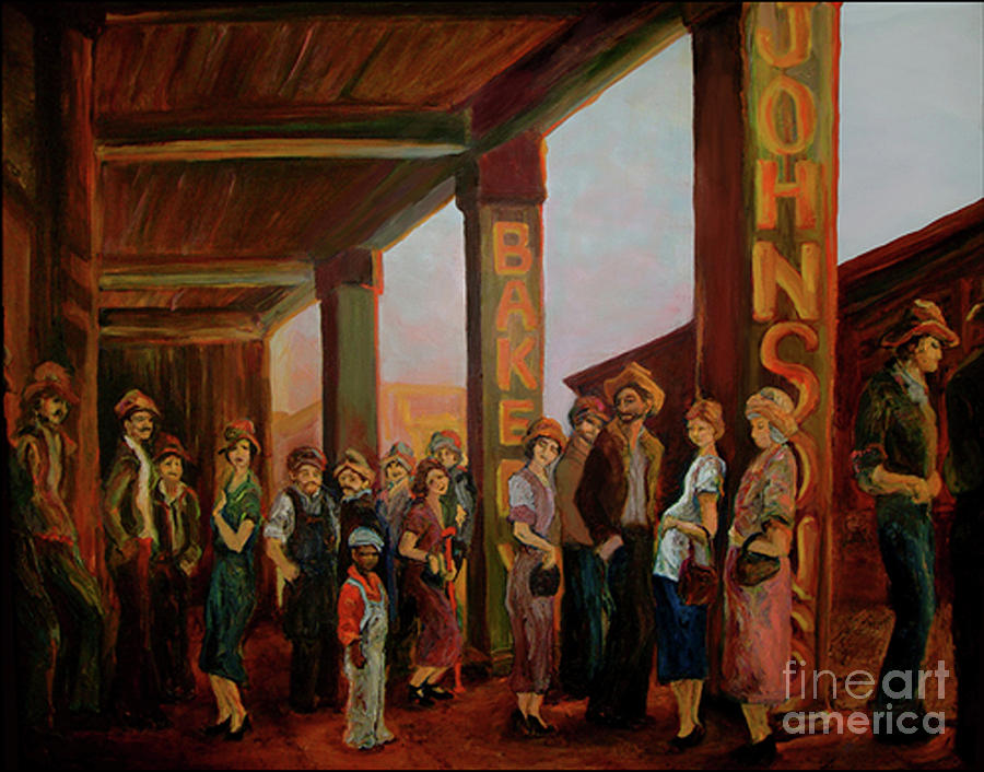 Bread Line by Donna Hall
