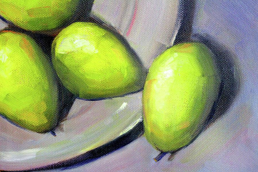 Breakfast Pears by Nancy Merkle