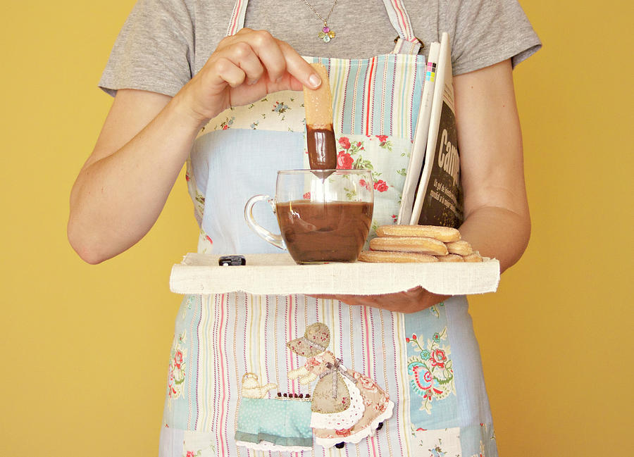 Breakfast With Chocolate Photograph by Montse Cuesta