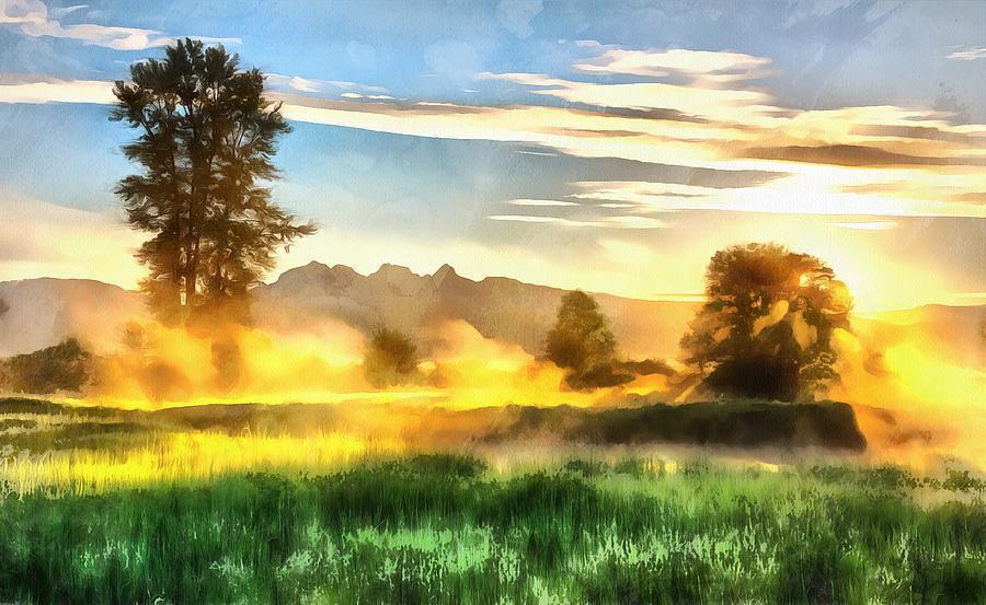 Breaking the Fog by Harry Warrick