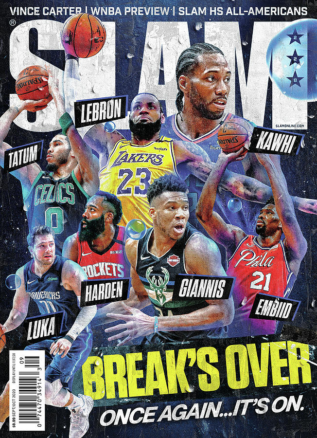 Breaks Over: Once Again… Its On. SLAM Cover Photograph by Getty Images
