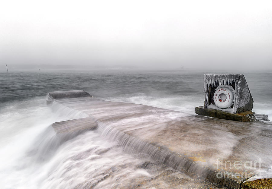 Breakwater Bouy Photograph