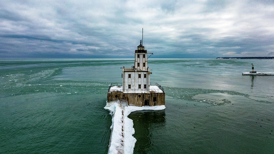 Breakwater Lighthouse by Randy Scherkenbach