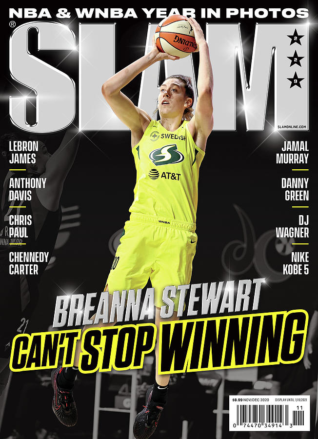 Breanna Stewart: Cant Stop Winning SLAM Cover Photograph by Getty Images
