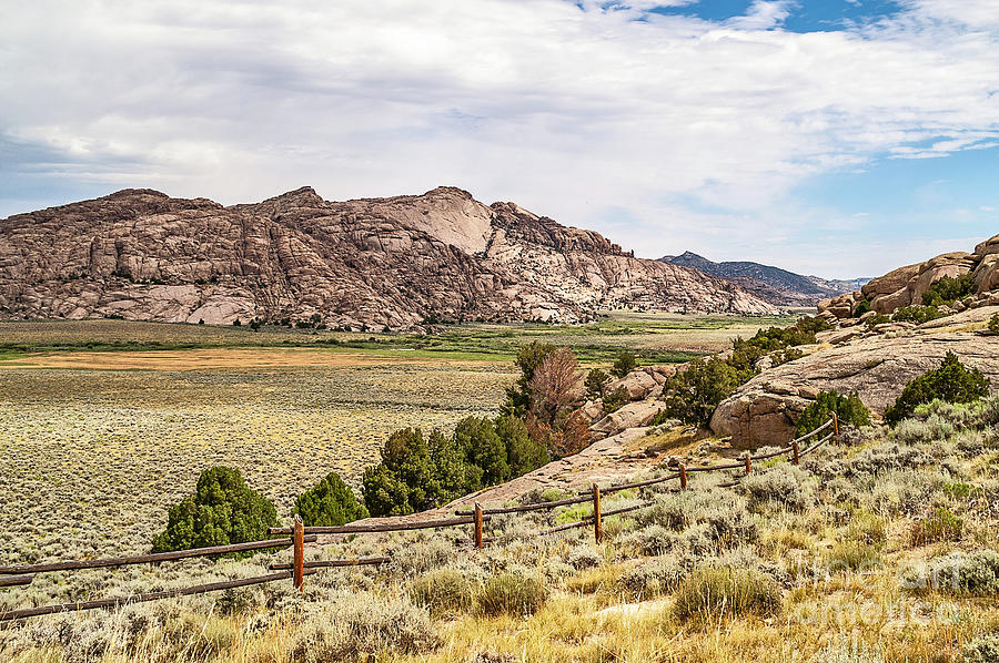 Breathtaking Wyoming Scenery by Sue Smith
