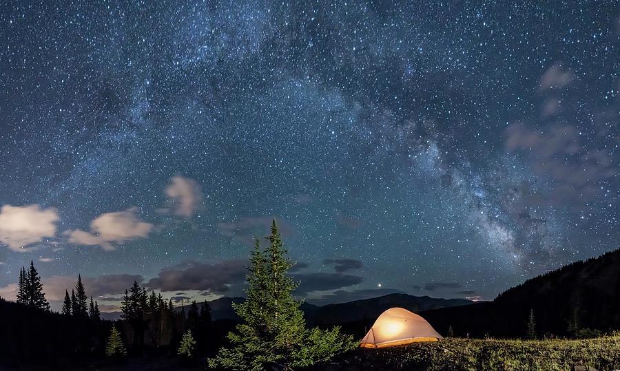 Breckenridge Colorado Milky Way Photograph