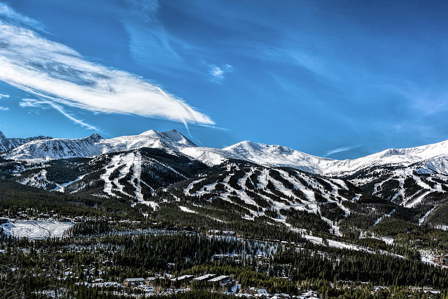 Breckenridge from Boreas Pass Road by Stephen Johnson