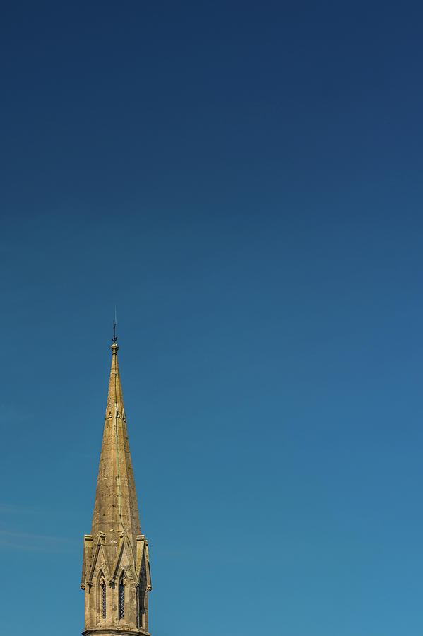 Brecon Presbyterian Church Spire by Steve Purnell