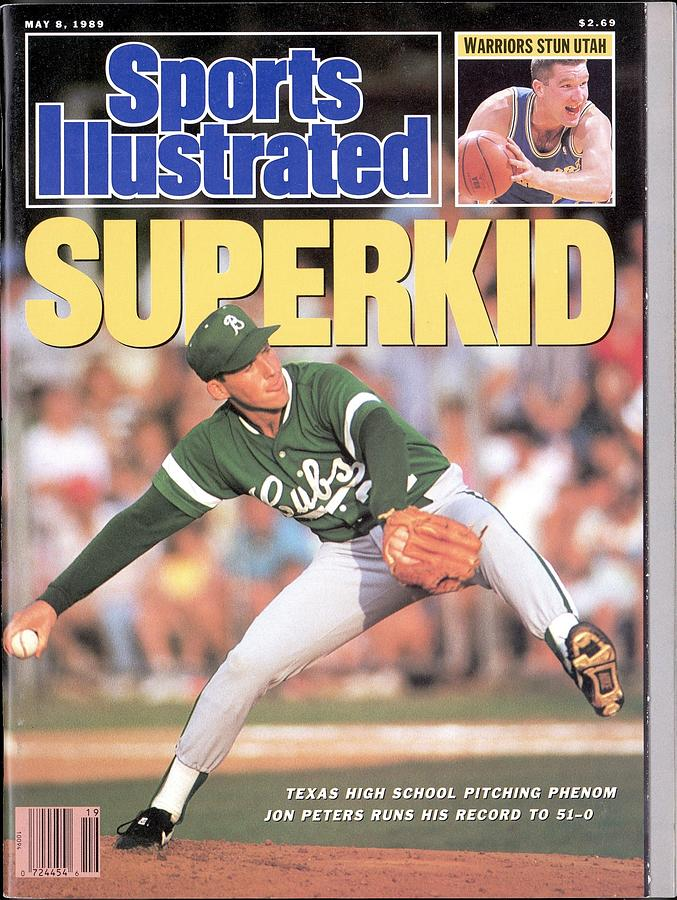 Brenham High School Jon Peters Sports Illustrated Cover Photograph by Sports Illustrated