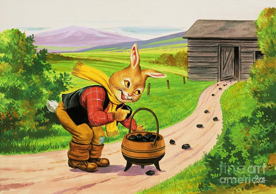 Brer Rabbit By Hc Fox by Henry Charles Fox