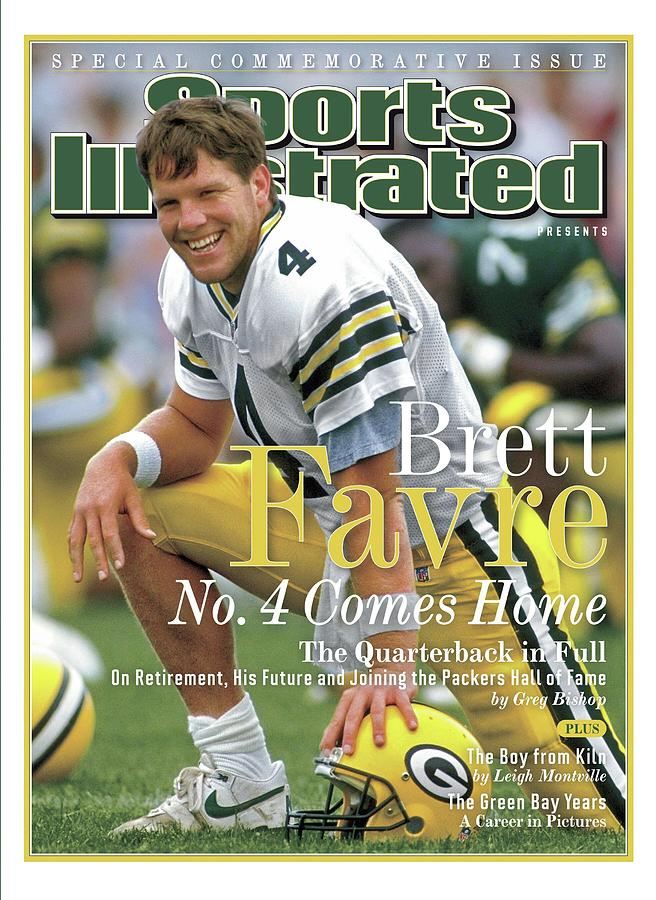 Brett Favre, No. 4 Comes Home Special Commemorative Issue Sports Illustrated Cover Photograph by Sports Illustrated