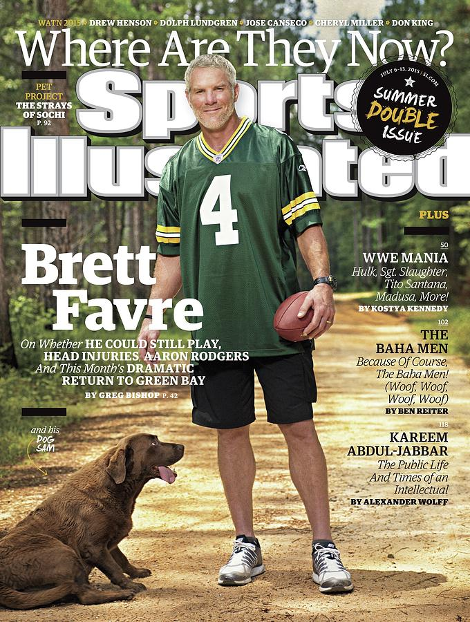 Brett Favre, Where Are They Now Sports Illustrated Cover Photograph by Sports Illustrated