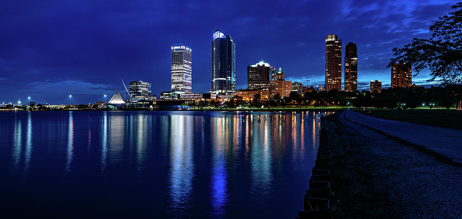 Brew City Blue Hour by Randy Scherkenbach