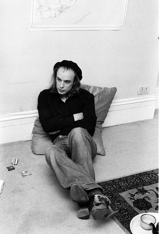 Brian Eno At Home Photograph by Erica Echenberg