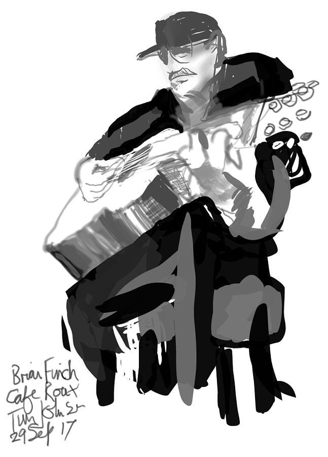 Brian Finch  by Tim Johnson