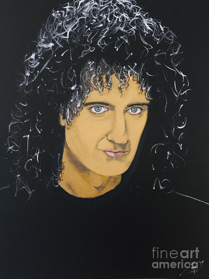 Brian May by John Creekmore