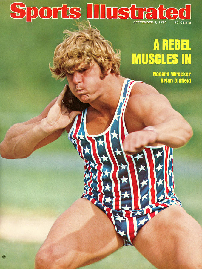 Brian Oldfield, Shot Put Sports Illustrated Cover Photograph by Sports Illustrated