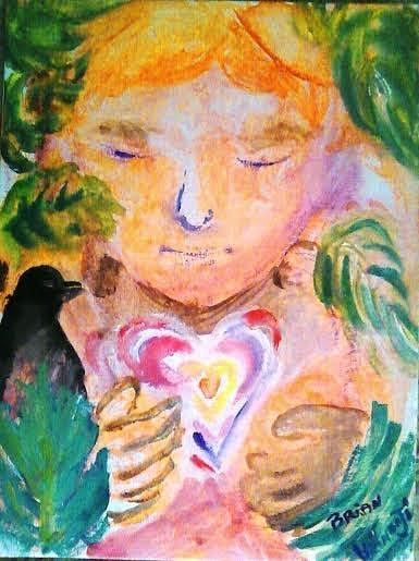 Brian's Caring Heart by Claremaria Vrindaji Bowman