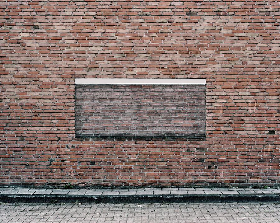 Brick Window Photograph by This Is The Contemporary Landscape