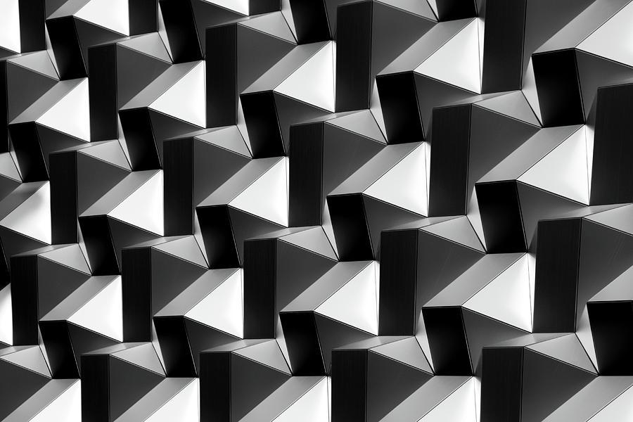 Bricks  On The Wall by Hans-wolfgang Hawerkamp