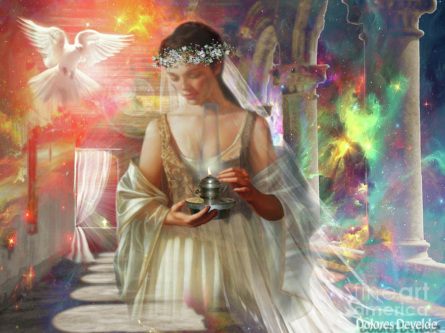 Bride Of Christ by Dolores Develde