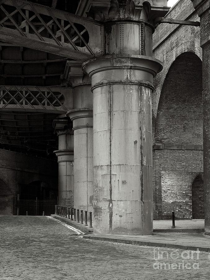 Street Photograph - Bridge And Arches, Castlefield, Manchester, 2014 by Unknown